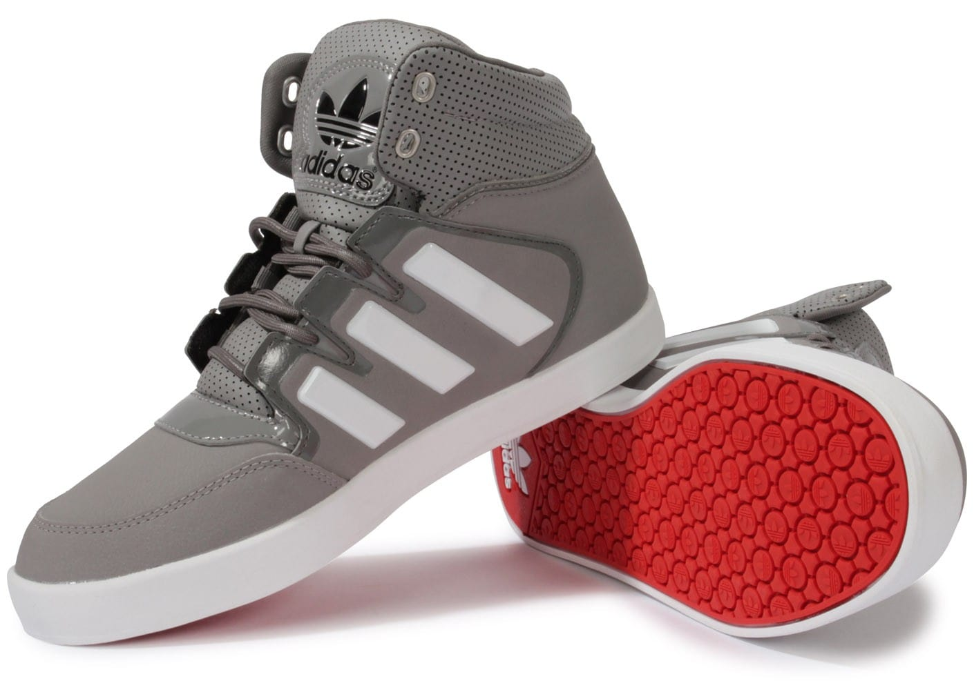 newest 59424 0e319 Chausport Grise Chaussures Baskets Adidas Dropstep Homme c41