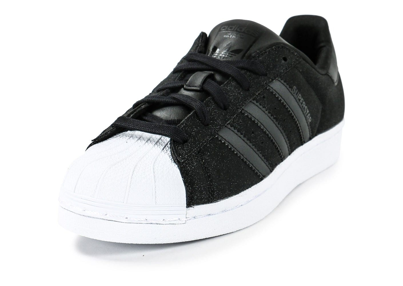 adidas superstar noir et paillette