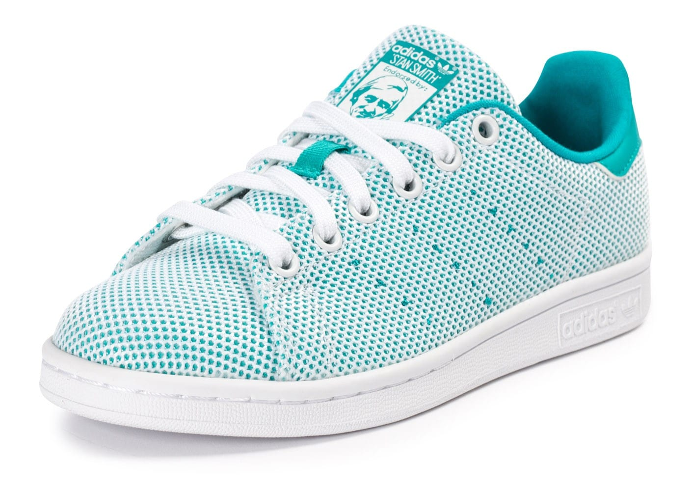 best authentic 57eb0 b8df0 ... Chaussures adidas Stan Smith Adicolor Summer turquoise vue avant ...