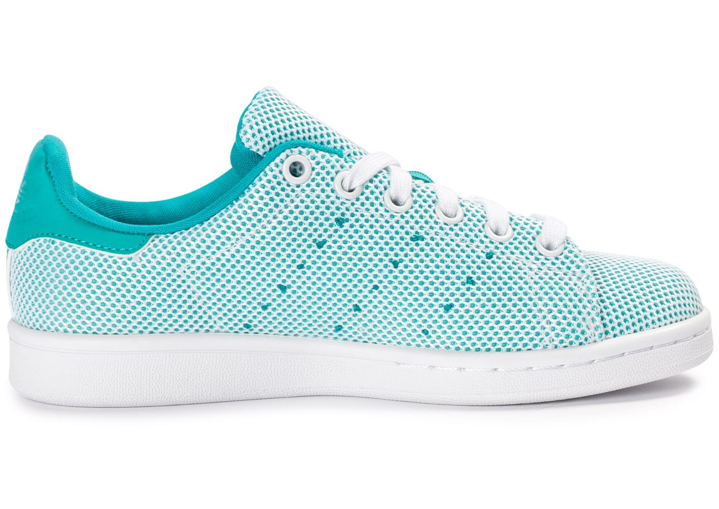 new arrival eb263 cd6c8 ... Chaussures adidas Stan Smith Adicolor Summer turquoise vue dessous ...