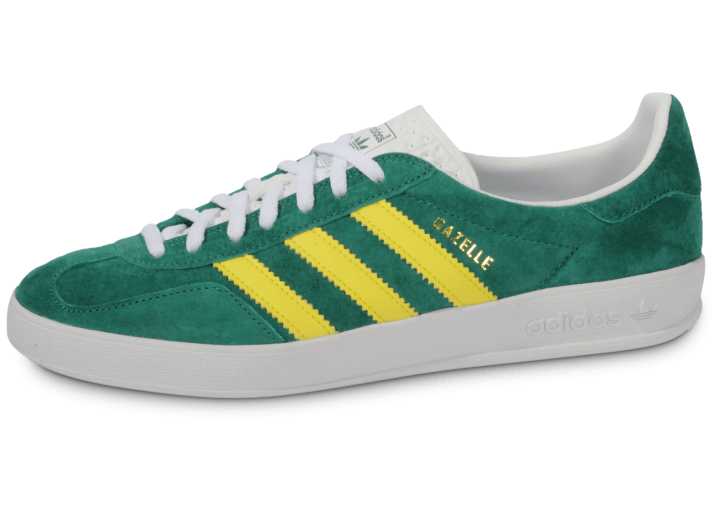new product c55c4 c55e5 adidas Gazelle Indoor Verte - Chaussures Baskets homme - Chausport