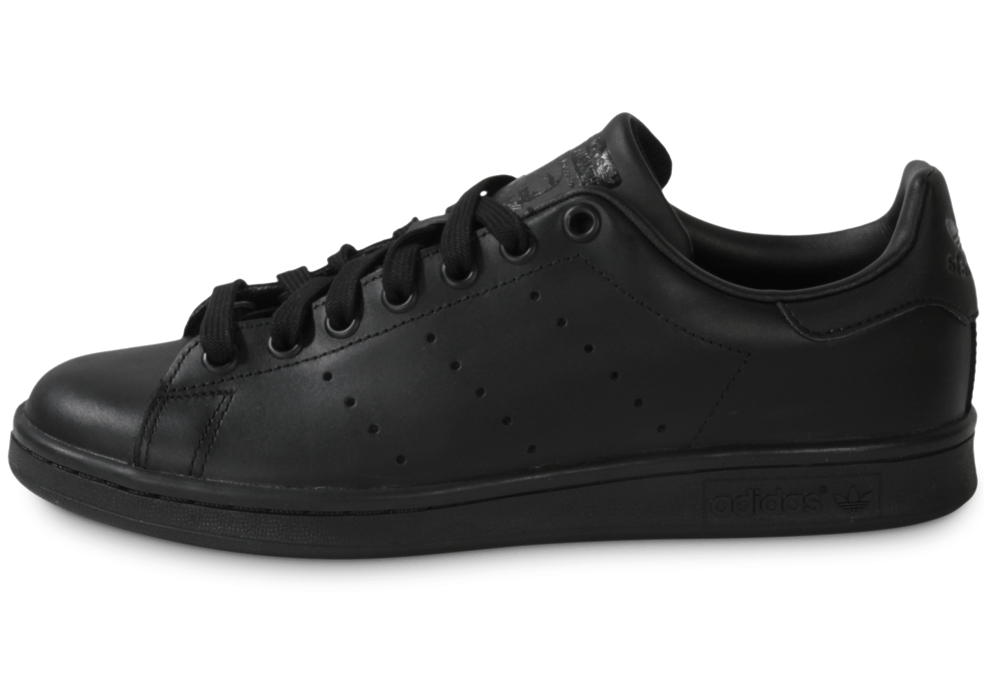 adidas stan smith noire chaussures baskets homme chausport. Black Bedroom Furniture Sets. Home Design Ideas