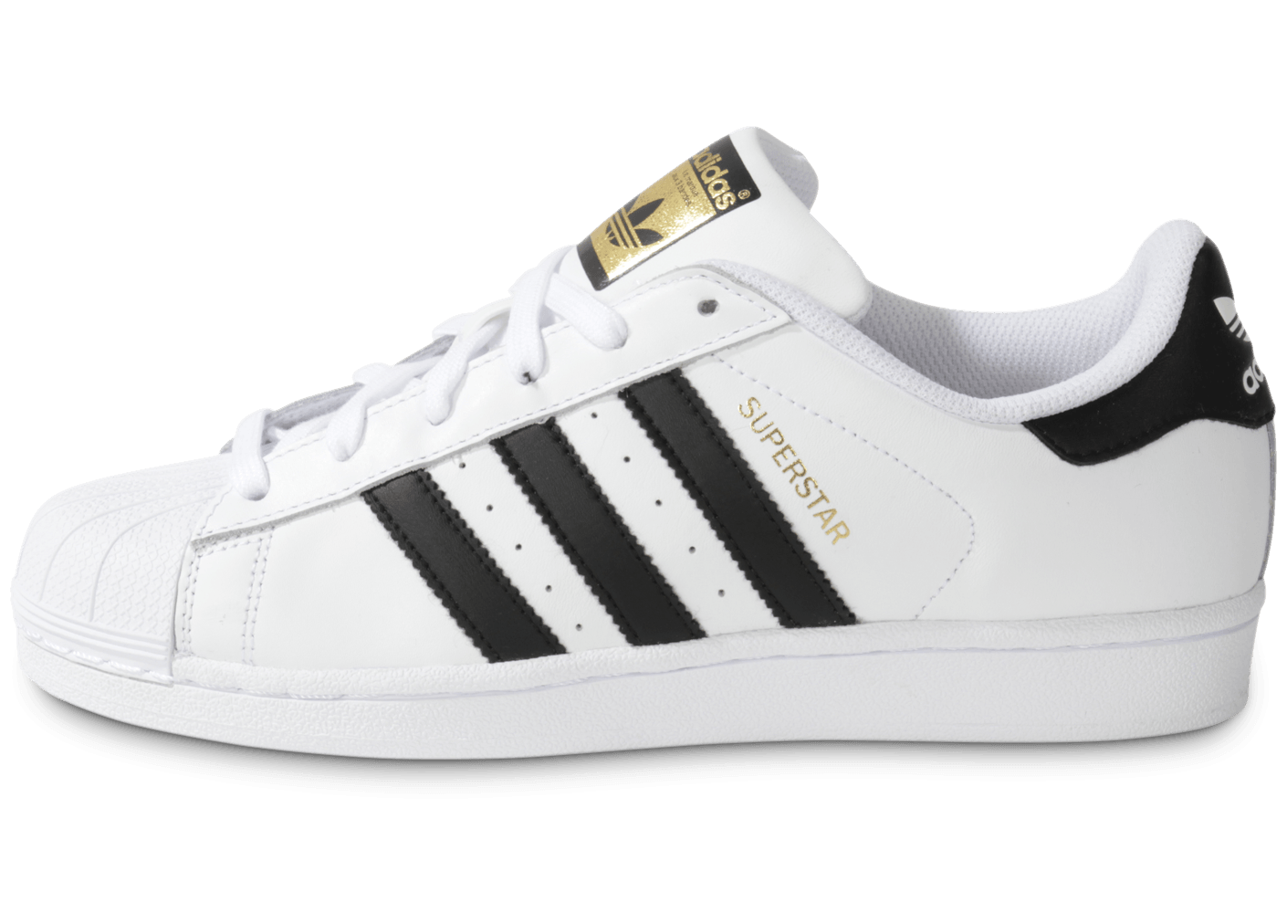 adidas Superstar Foundation blanc noir - Chaussures Baskets homme - Chausport