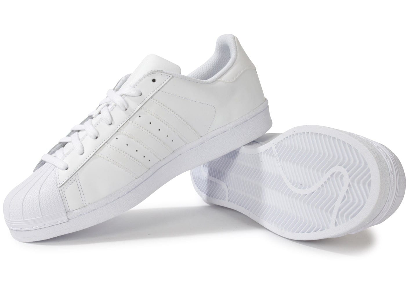 Chaussures blanche Superstar Baskets adidas Foundation Yg6bf7y