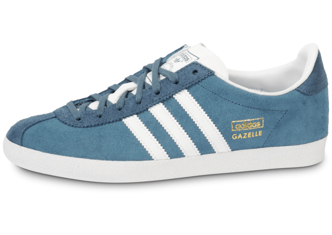 100% genuine free shipping skate shoes adidas Gazelle Og Bleue - Chaussures Baskets homme - Chausport