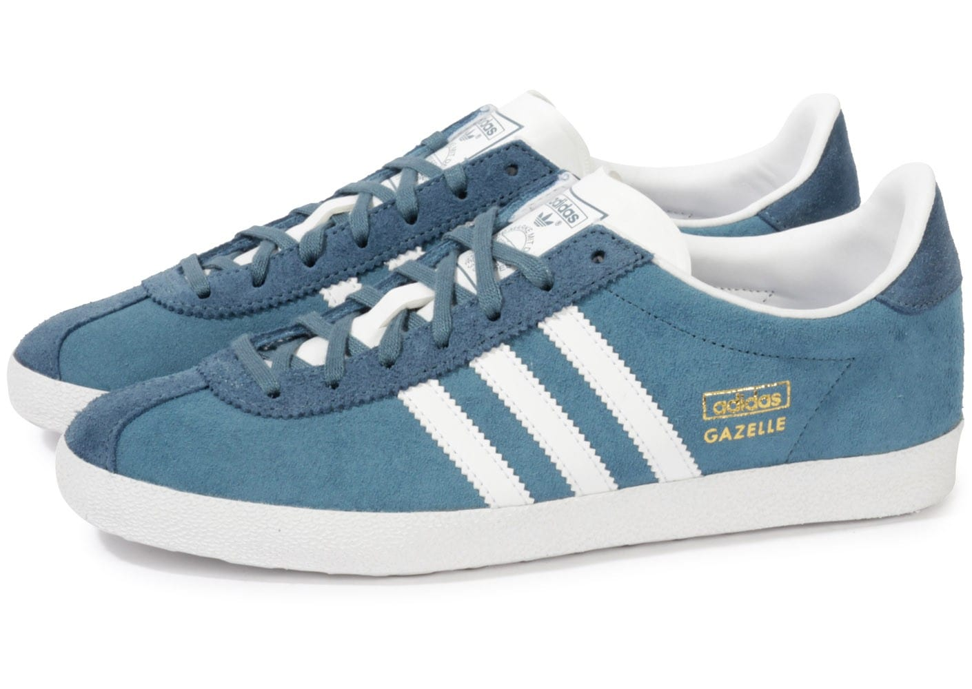 Gazelle Baskets Og Bleue Homme Chaussures Adidas Chausport QxBedorCW