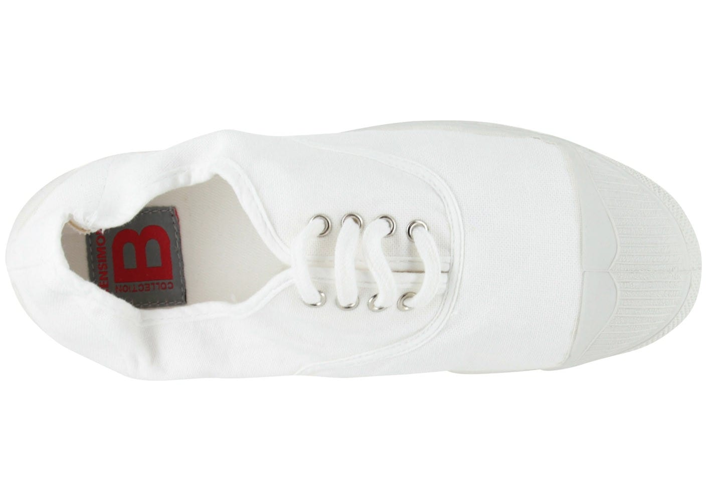 New York dd08f 9f738 Bensimon Basic Lacet Blanche - Chaussures Chaussures - Chausport