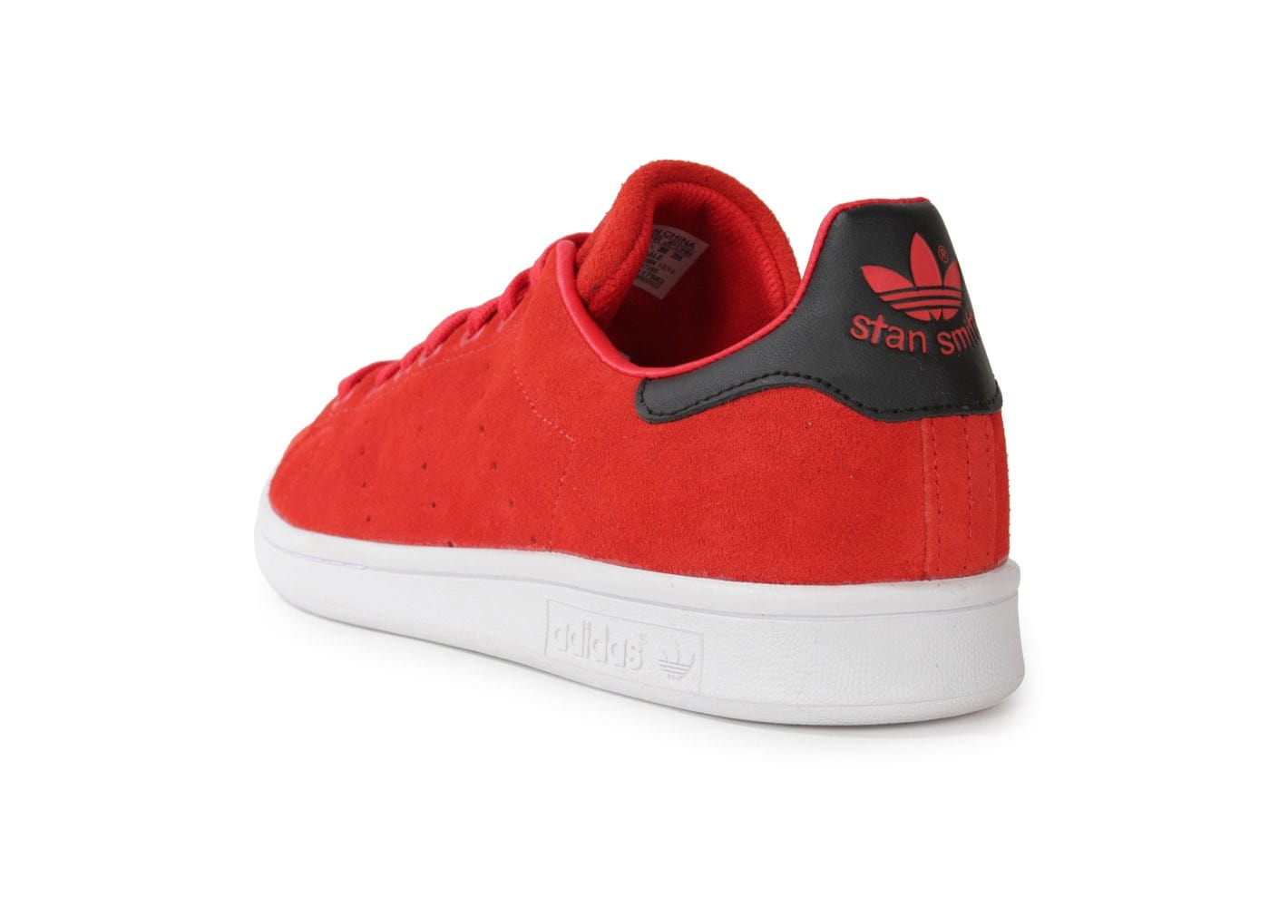 adidas stan smith suede rouge