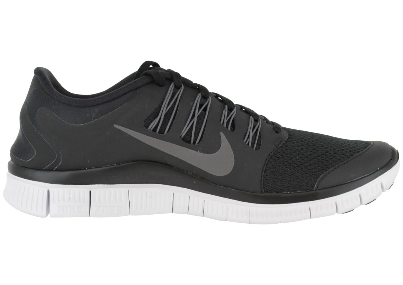 Nike Free 5.0+ Noire Chaussures Baskets homme Chausport