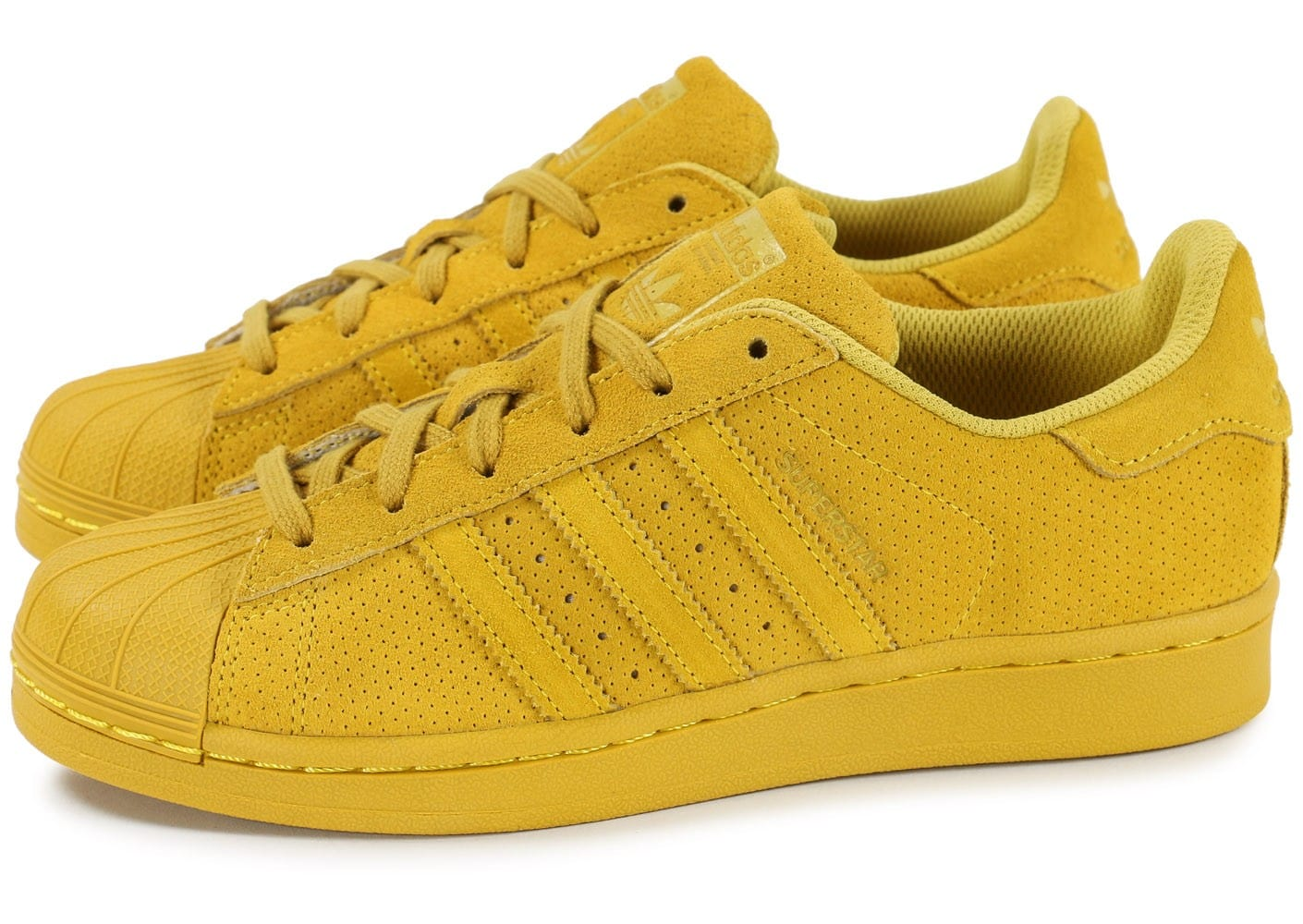 superstar adidas jaune