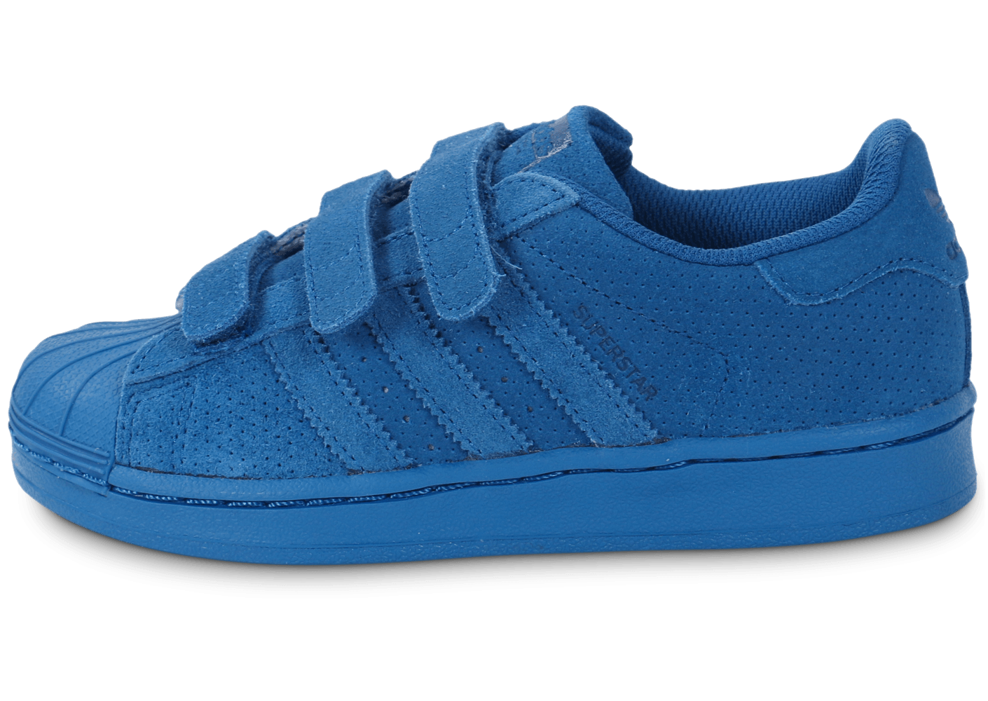 9640ca03a25a4 adidas Superstar Multicolor Enfant bleue - Chaussures adidas - Chausport