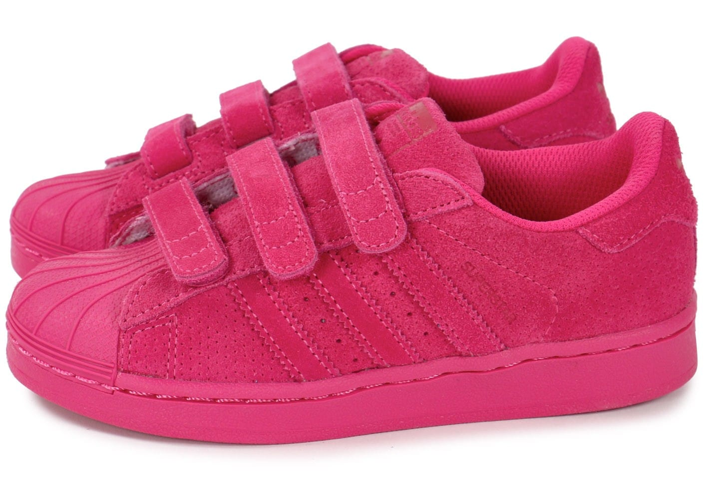 Chaussures Superstar Enfant Chausport Multicolor Adidas Rose bgvf67Yy