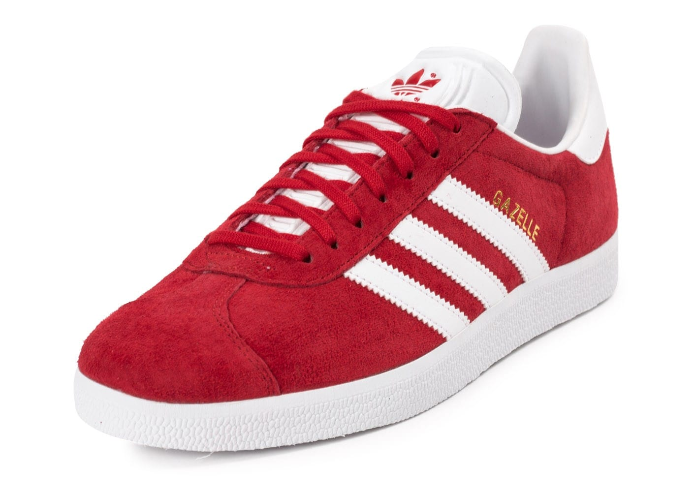 adidas Gazelle rouge - Chaussures Baskets homme - Chausport