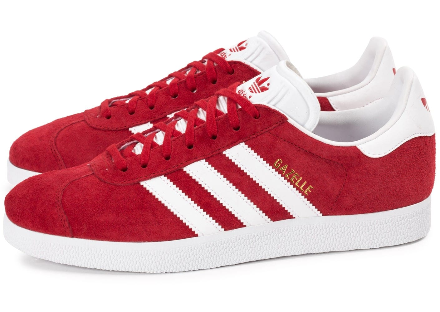 adidas Originals Gazelle Rouge - Chaussures Baskets basses Homme