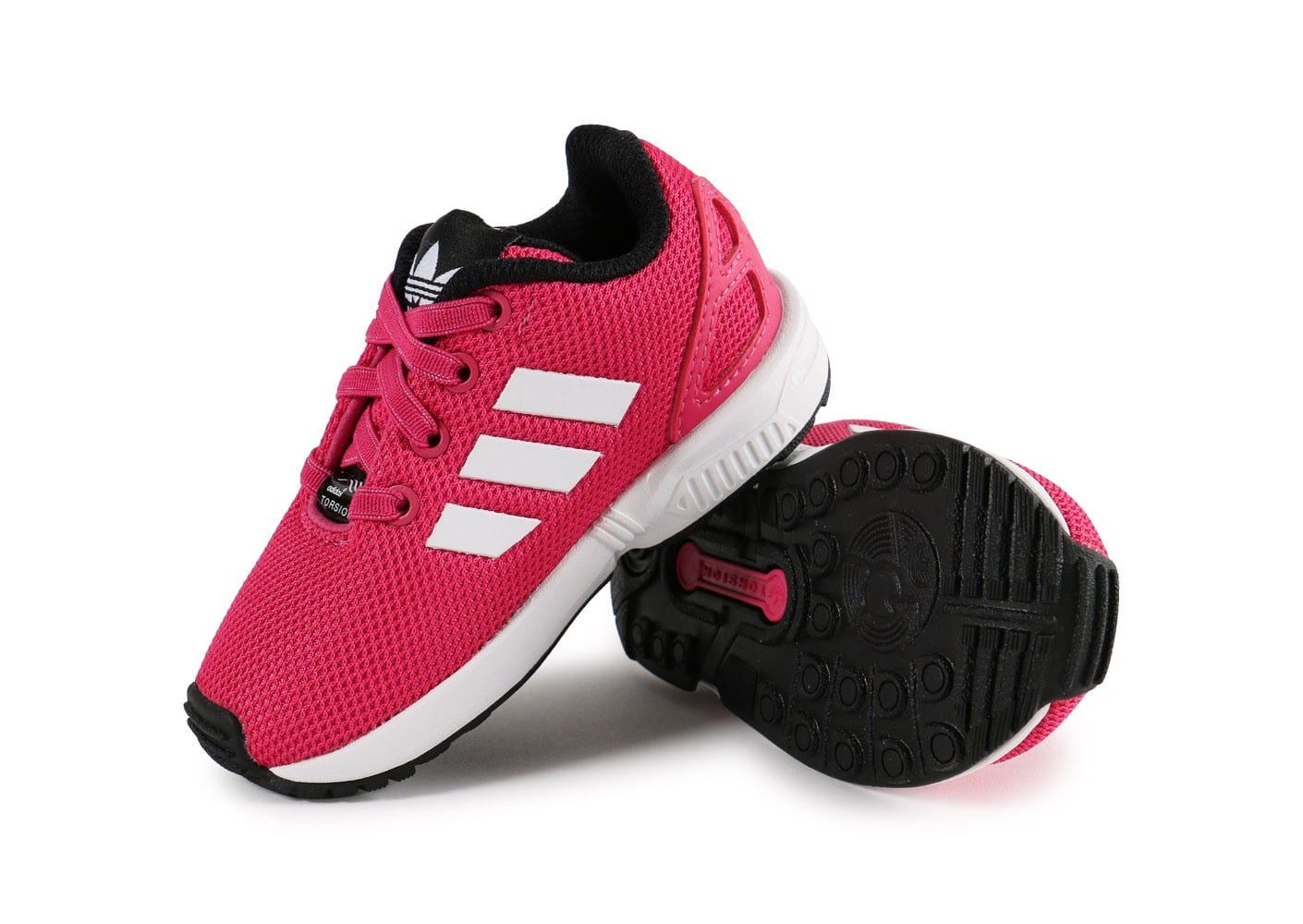 Chaussures Adidas ZX Flux Pointure 25 roses enfant v5ZvH9G6ff