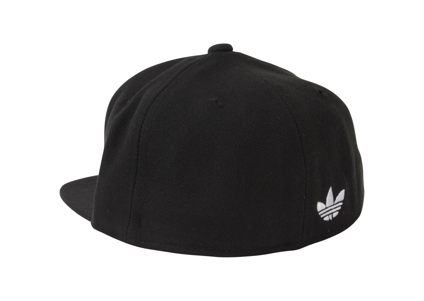 adidas Casquette Trefle Fitted Noire adidas Chausport