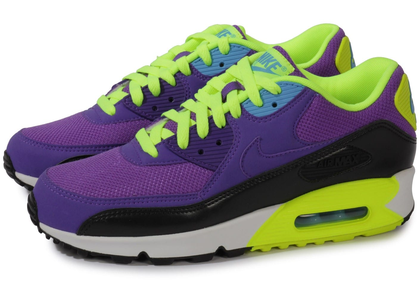 Nike Air Max 90 Hyper Homme Punch Violet Chaussures Baskets Homme Hyper 7260e7