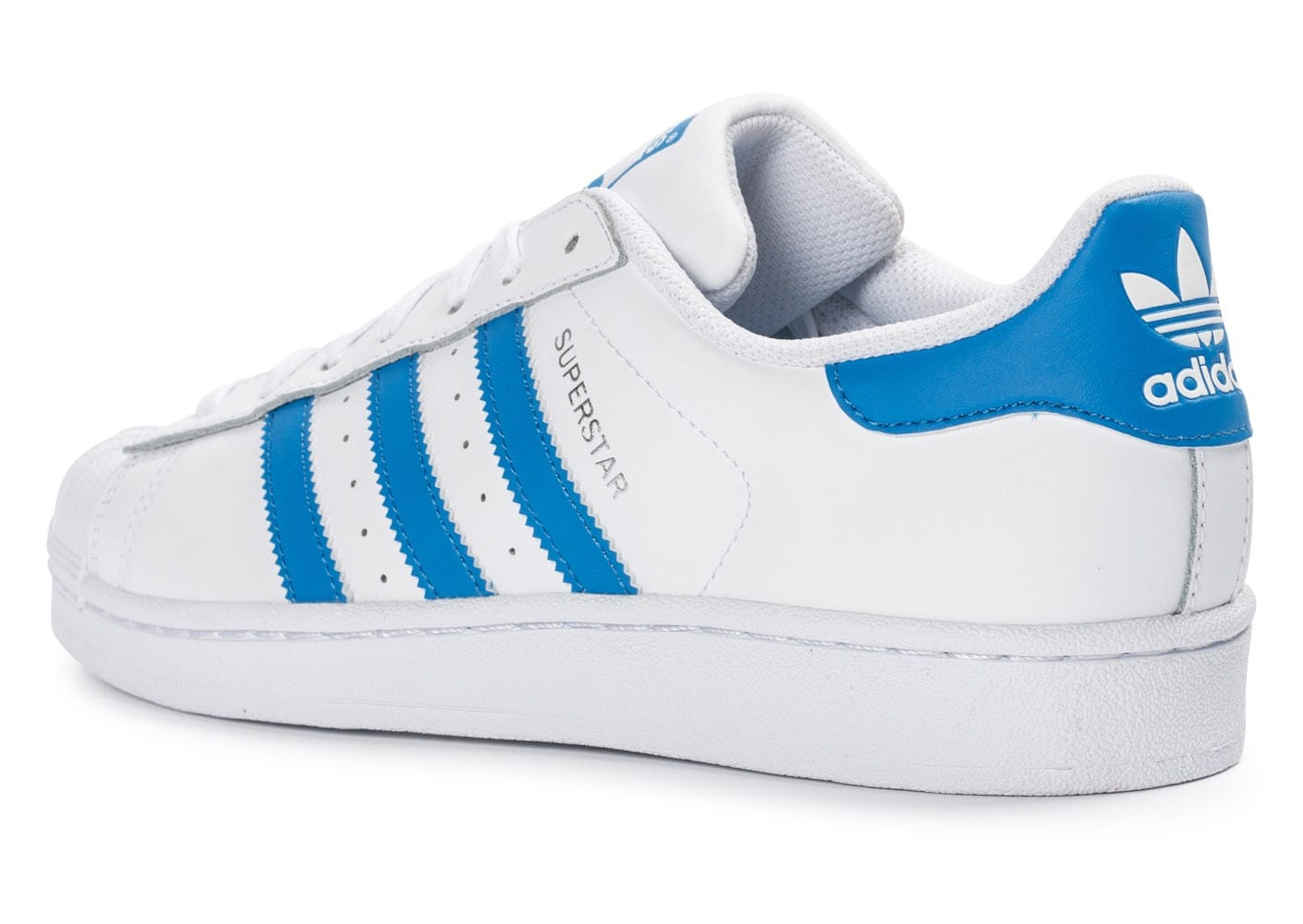 superstar bleu adidas