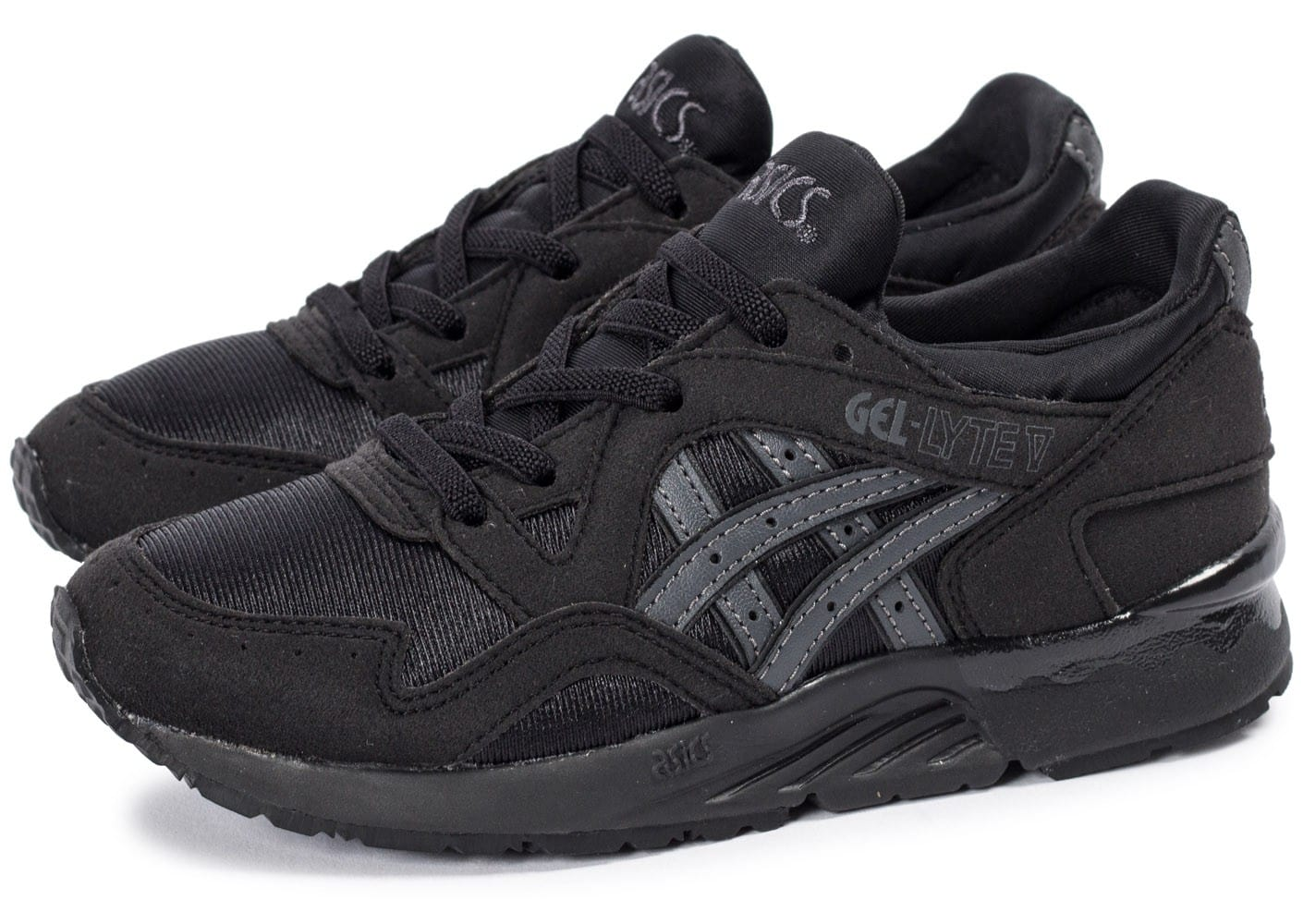 5a768227f393 Asics Gel Lyte V Enfant noire - Chaussures Chaussures - Chausport