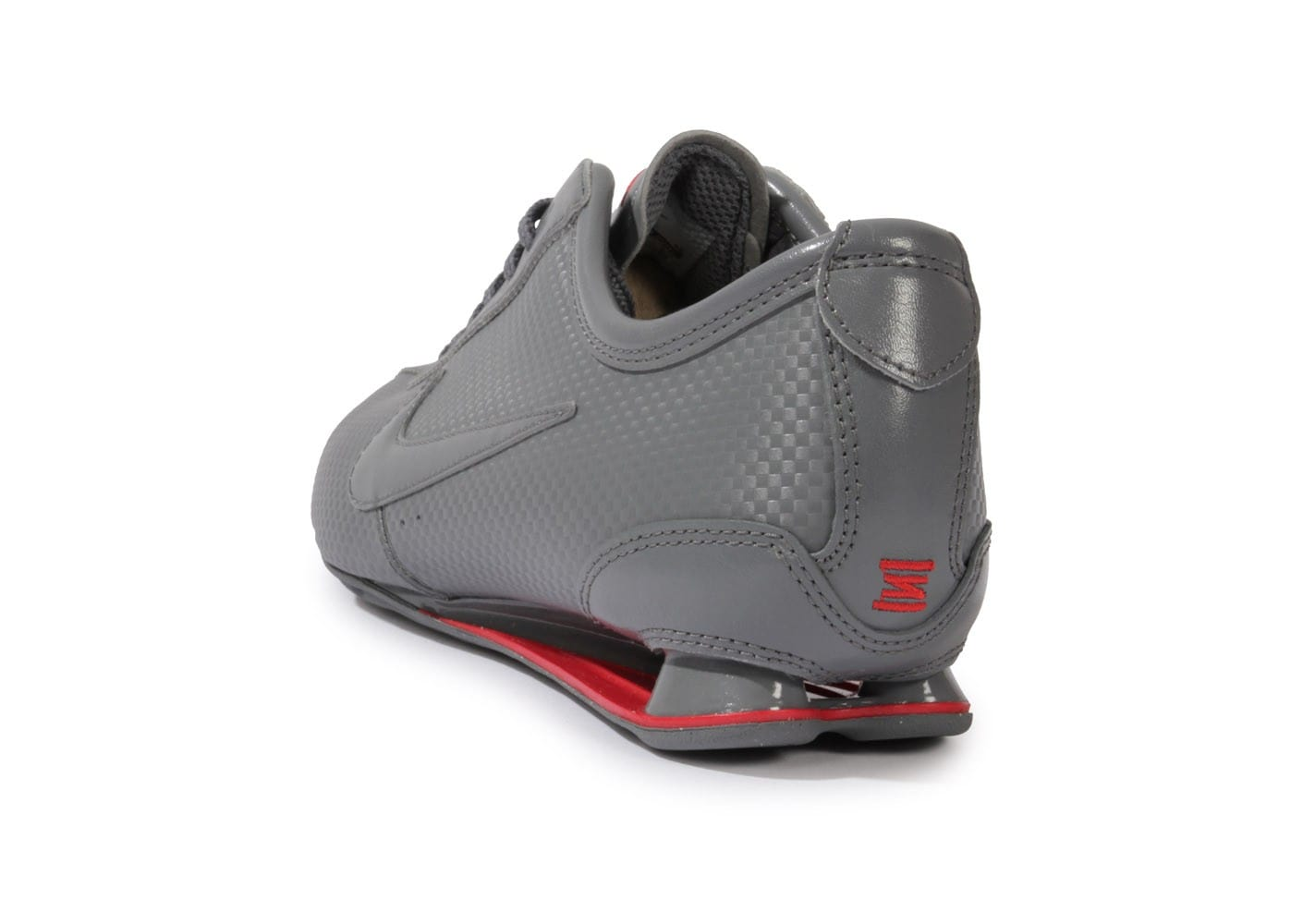 the latest 7724f a8a74 ... Chaussures Nike Shox Rivalry Grise vue arrière ...