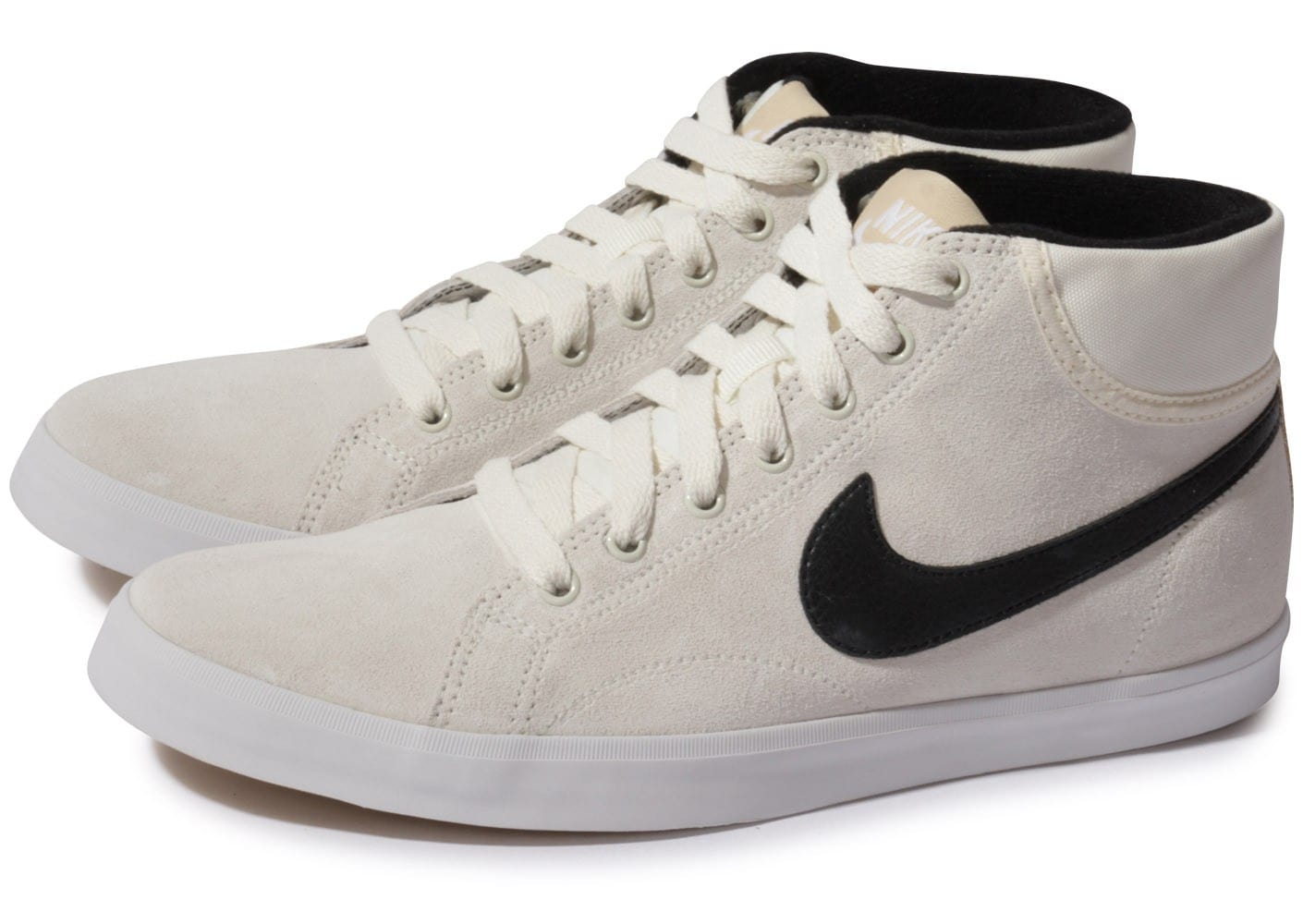 Nike Eastham Noire Et Chaussures Homme Mid Chausport Baskets Blanche PXiTOkZu