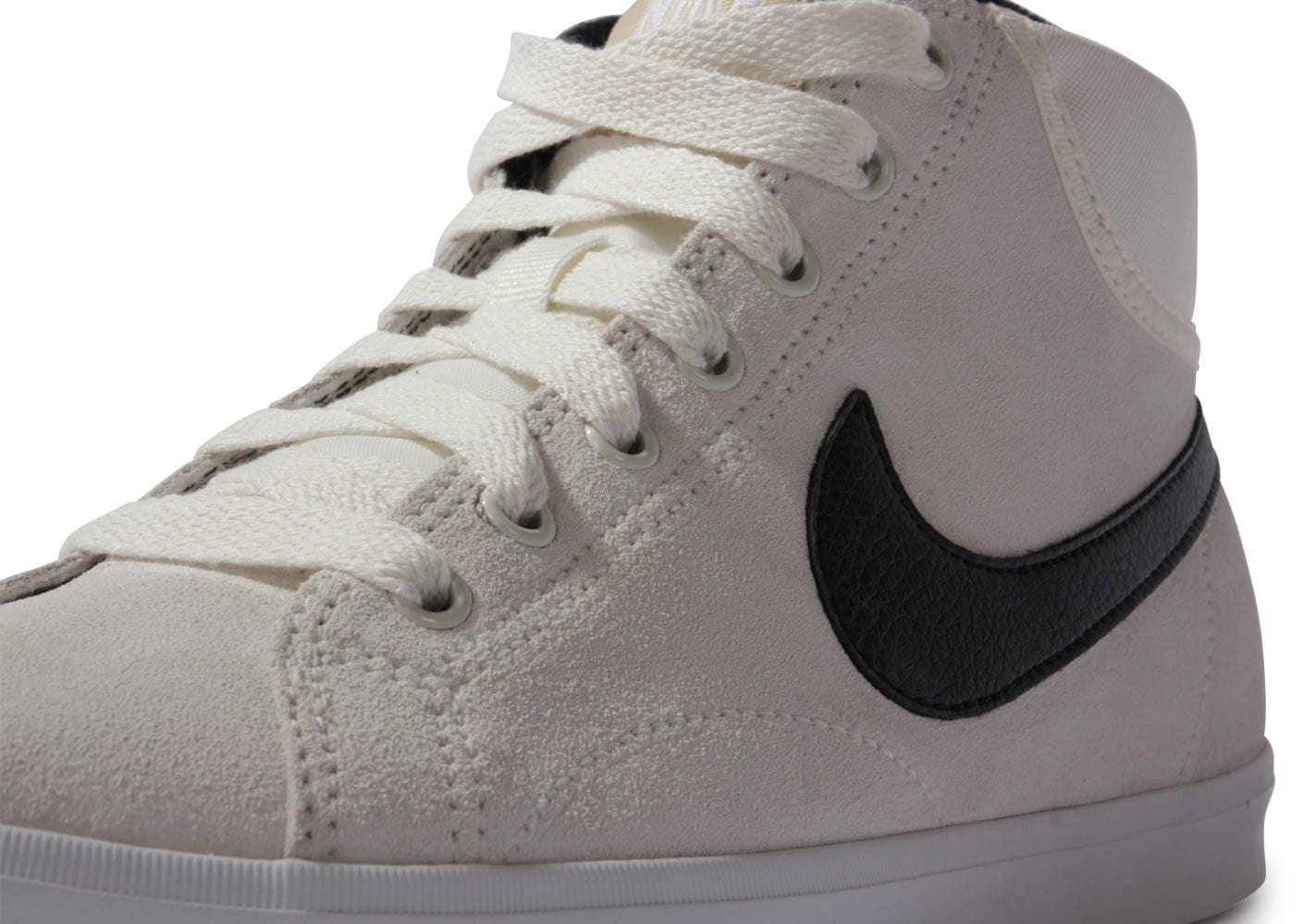 Nike Eastham Mid blanche et noire Chaussures Baskets homme