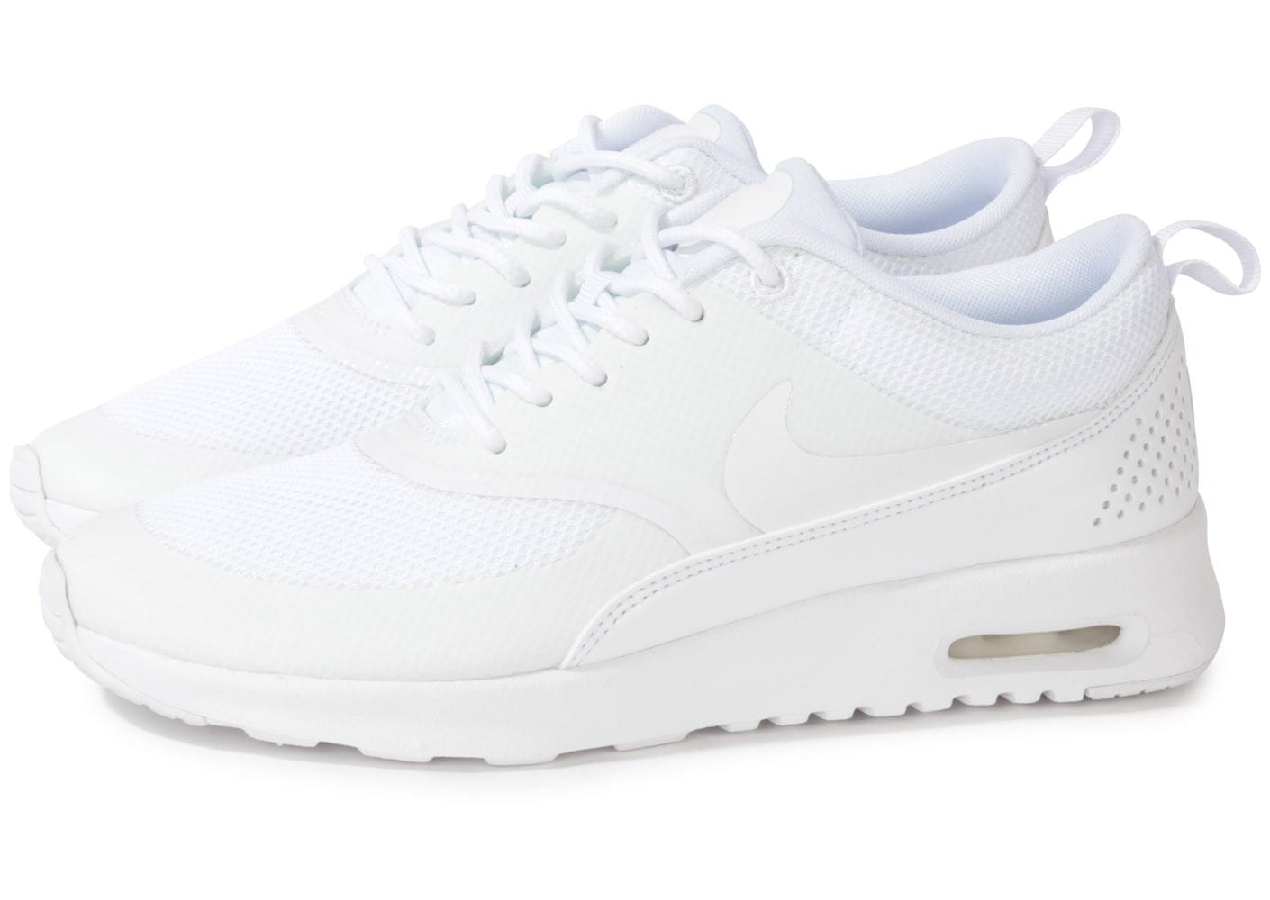many styles well known many styles Nike Air Max Thea Triple Blanc - Chaussures Chaussures ...