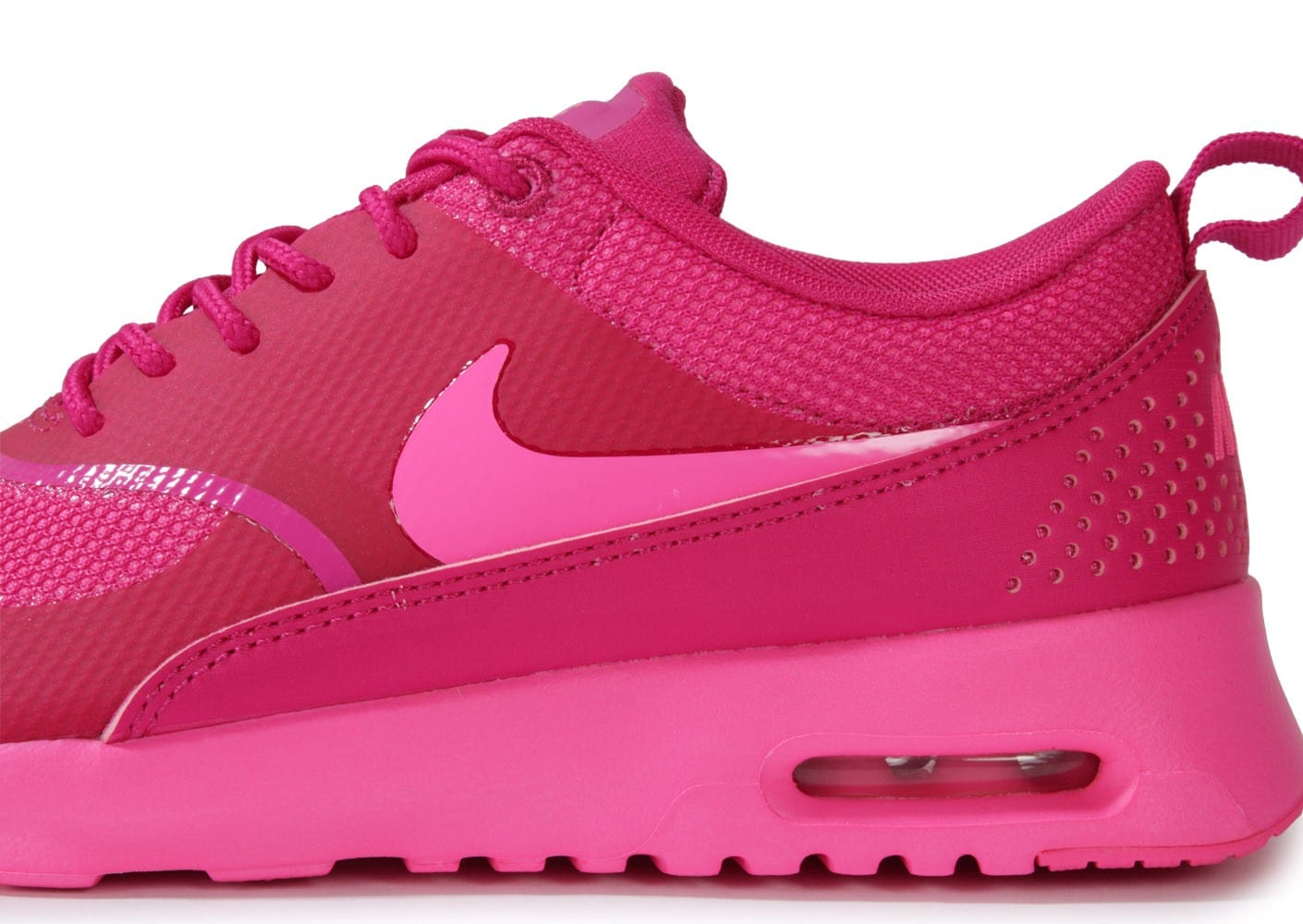 nouveaux styles d6465 810c2 Nike Air Max Thea Rose - Chaussures Chaussures - Chausport