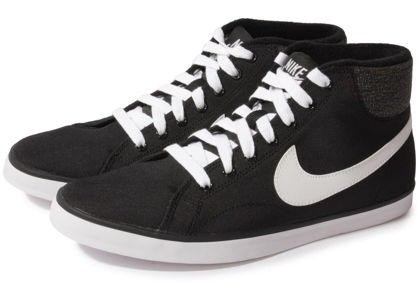 Nike Eastham Mid Noire Chaussures Baskets homme Chausport
