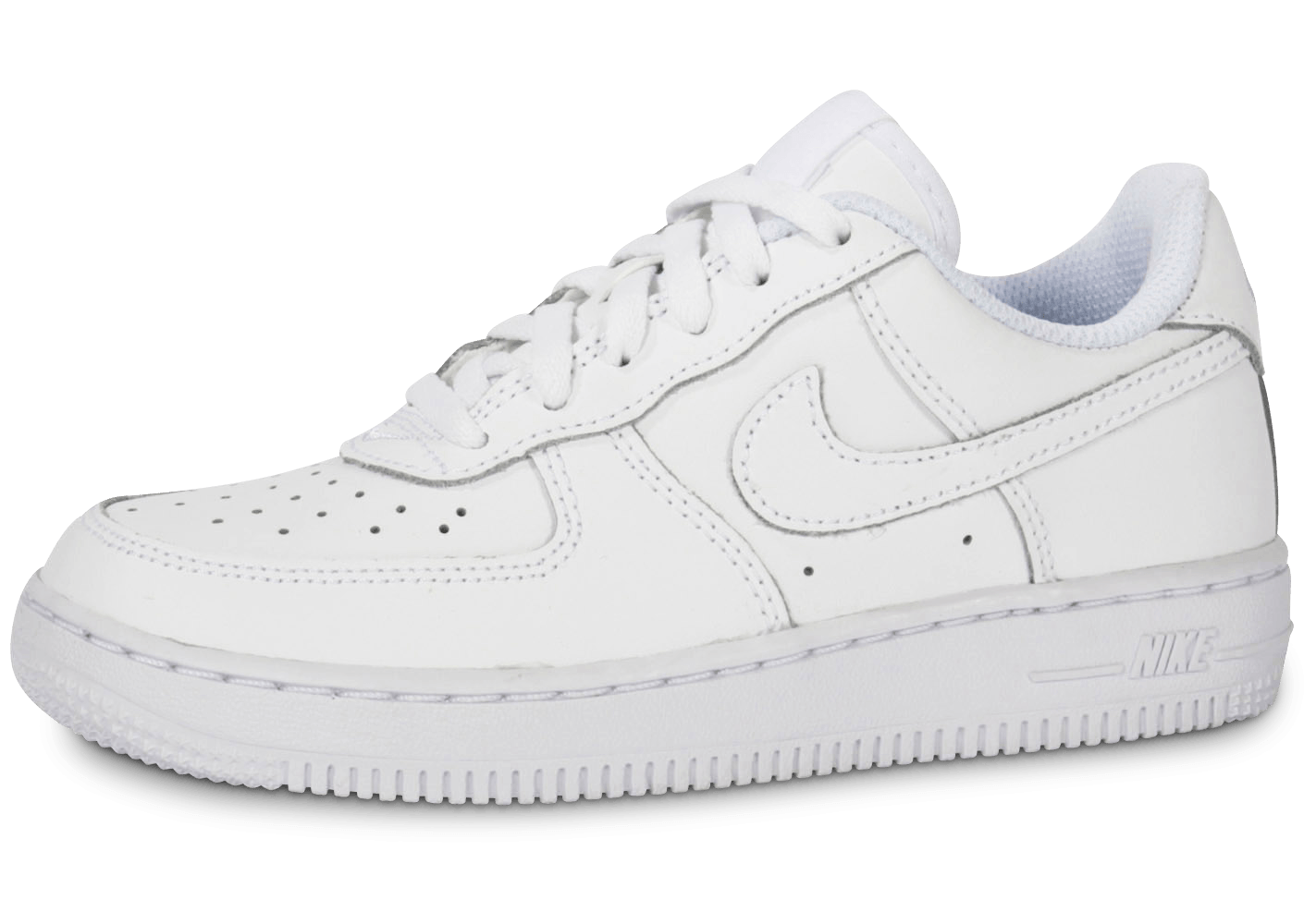 low priced d0016 feb0f Nike Air Force 1 Enfant Blanche - Chaussures Enfant - Chausport