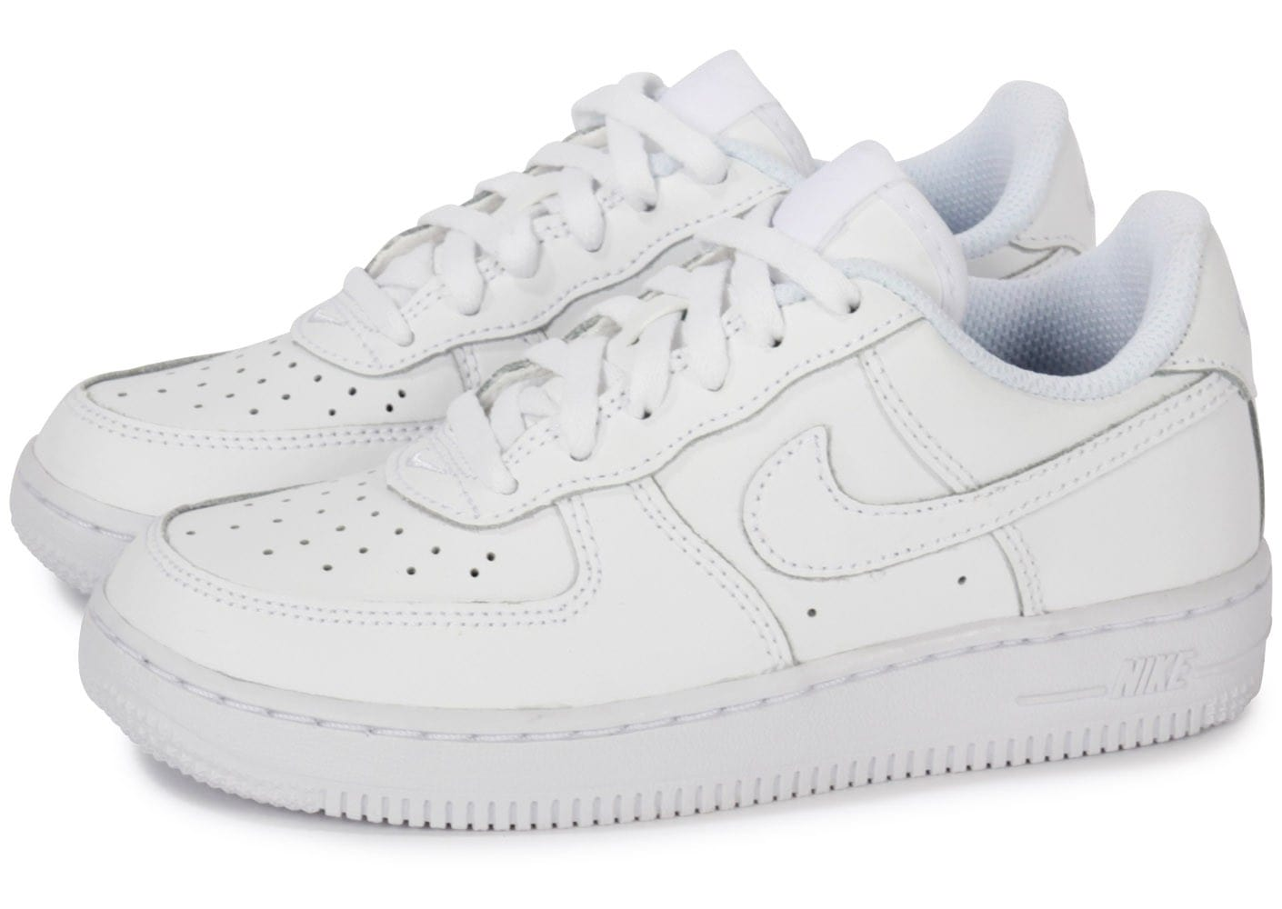 wholesale outlet nice shoes amazing selection Nike Air Force 1 Enfant Blanche - Chaussures Enfant - Chausport