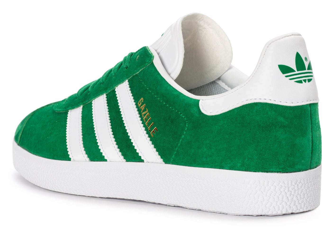 Soldes Homme Adidas Gazelle BB5477 vert OS2859FF Biomimicron