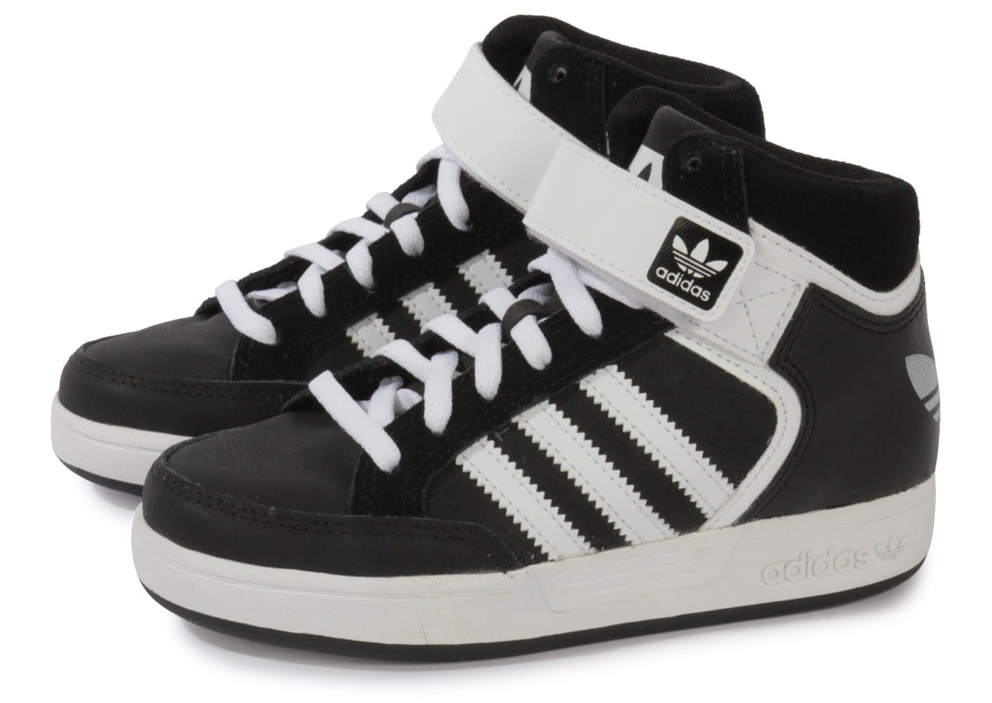 adidas Varial Mid Enfant Noire Chaussures adidas Chausport