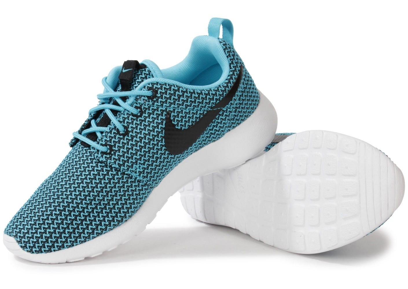 new styles 19461 4fe83 Cliquez pour zoomer Chaussures Nike Roshe Run Clear Water vue extérieure  Chaussures Nike Roshe Run Clear Water vue intérieure ...