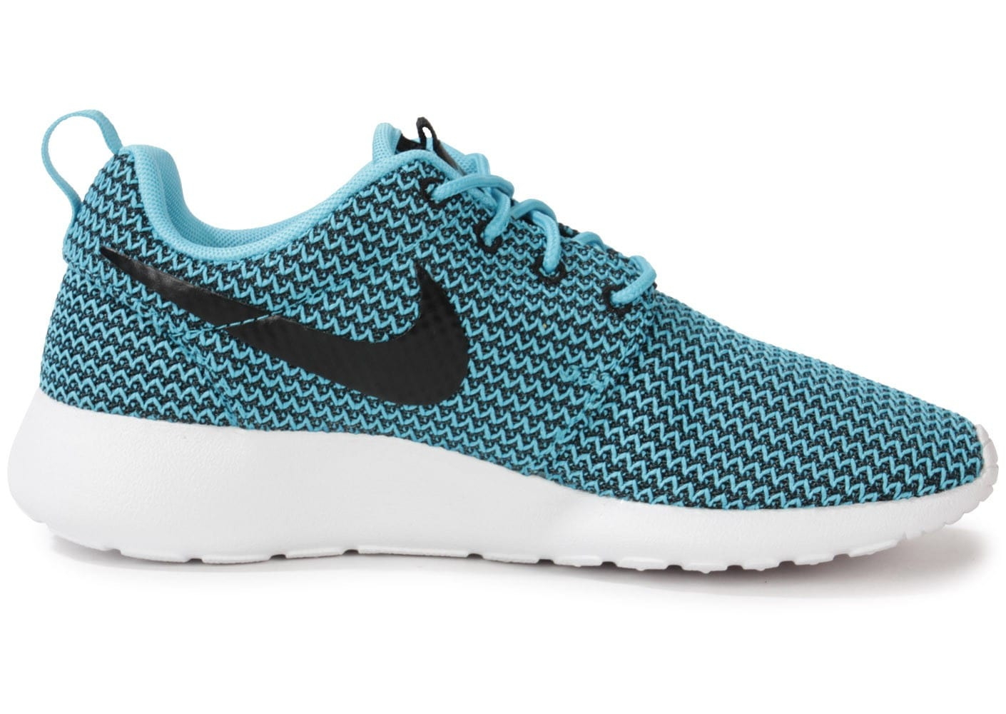 sale retailer 9f0d5 b78c3 ... Chaussures Nike Roshe Run Clear Water vue dessous ...