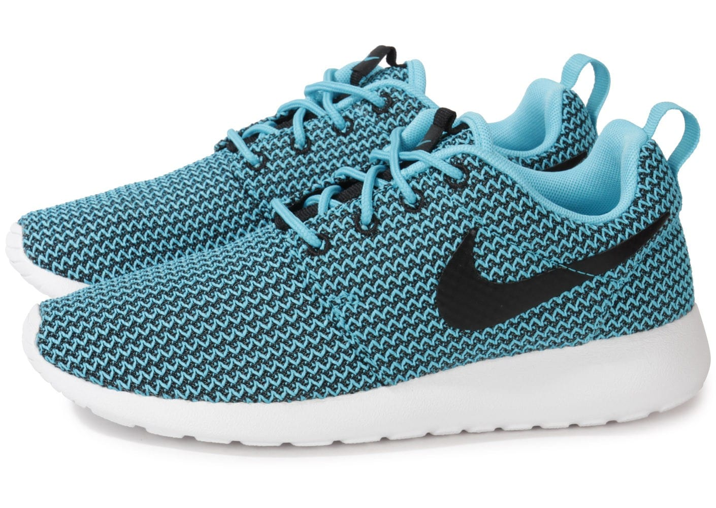 innovative design 94edf 8e5bb Cliquez pour zoomer Chaussures Nike Roshe Run Clear Water vue extérieure ...