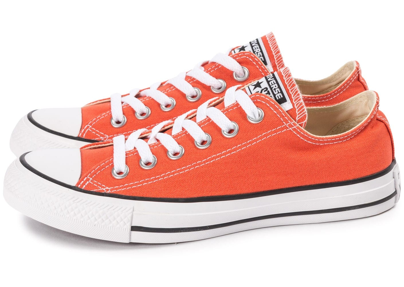 Converse Chuck Taylor All-Star Canvas OX orange - Chaussures ...