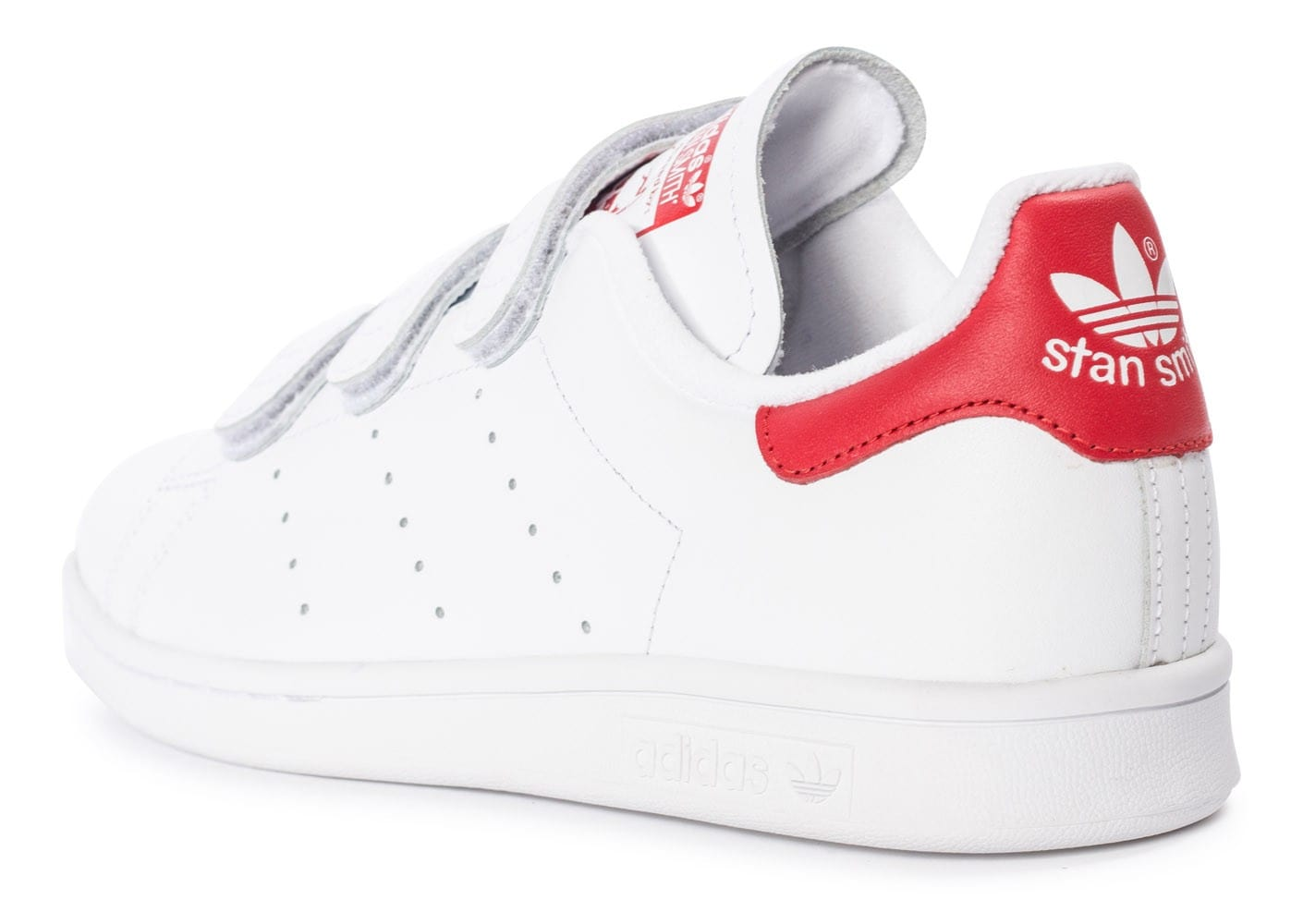 stan smith rouge blanc