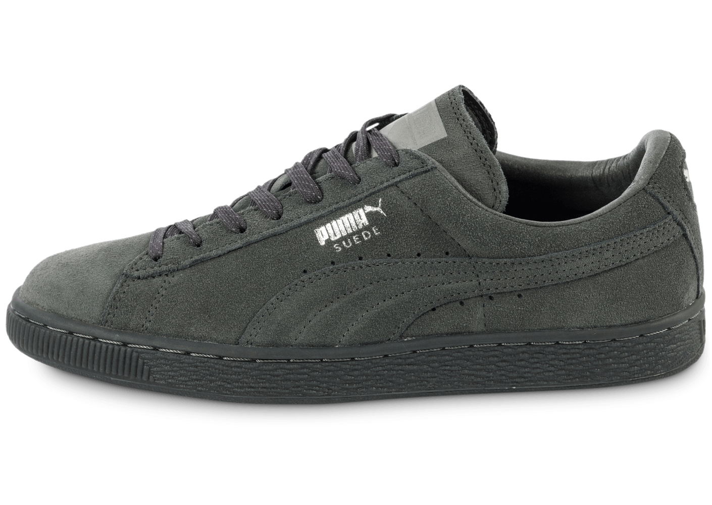 puma suede creepers grises