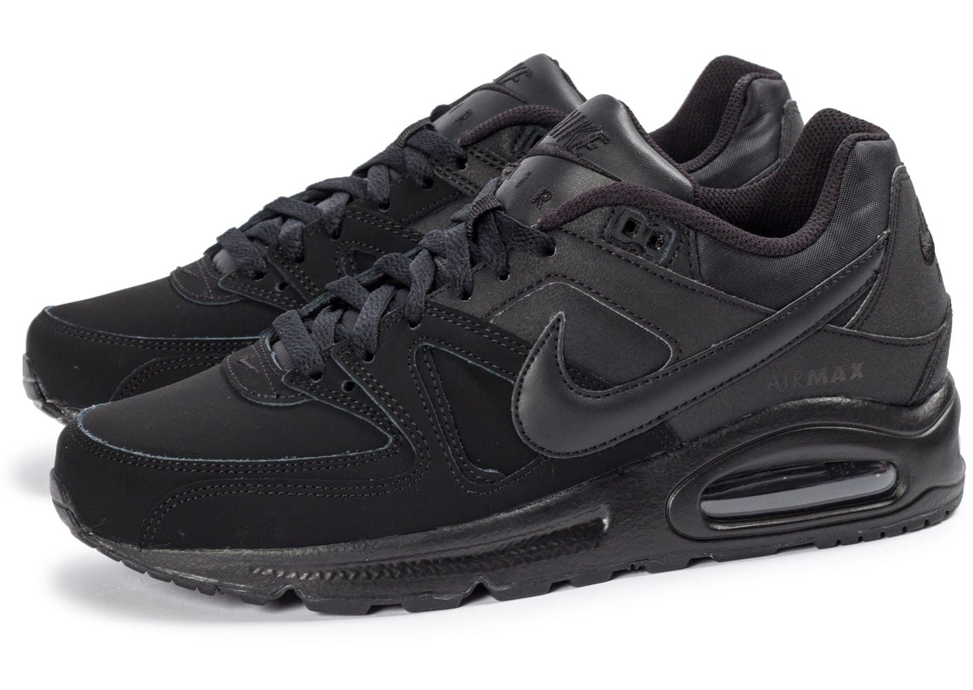 Nike Air Max Command Leather noir - Chaussures Baskets homme ...
