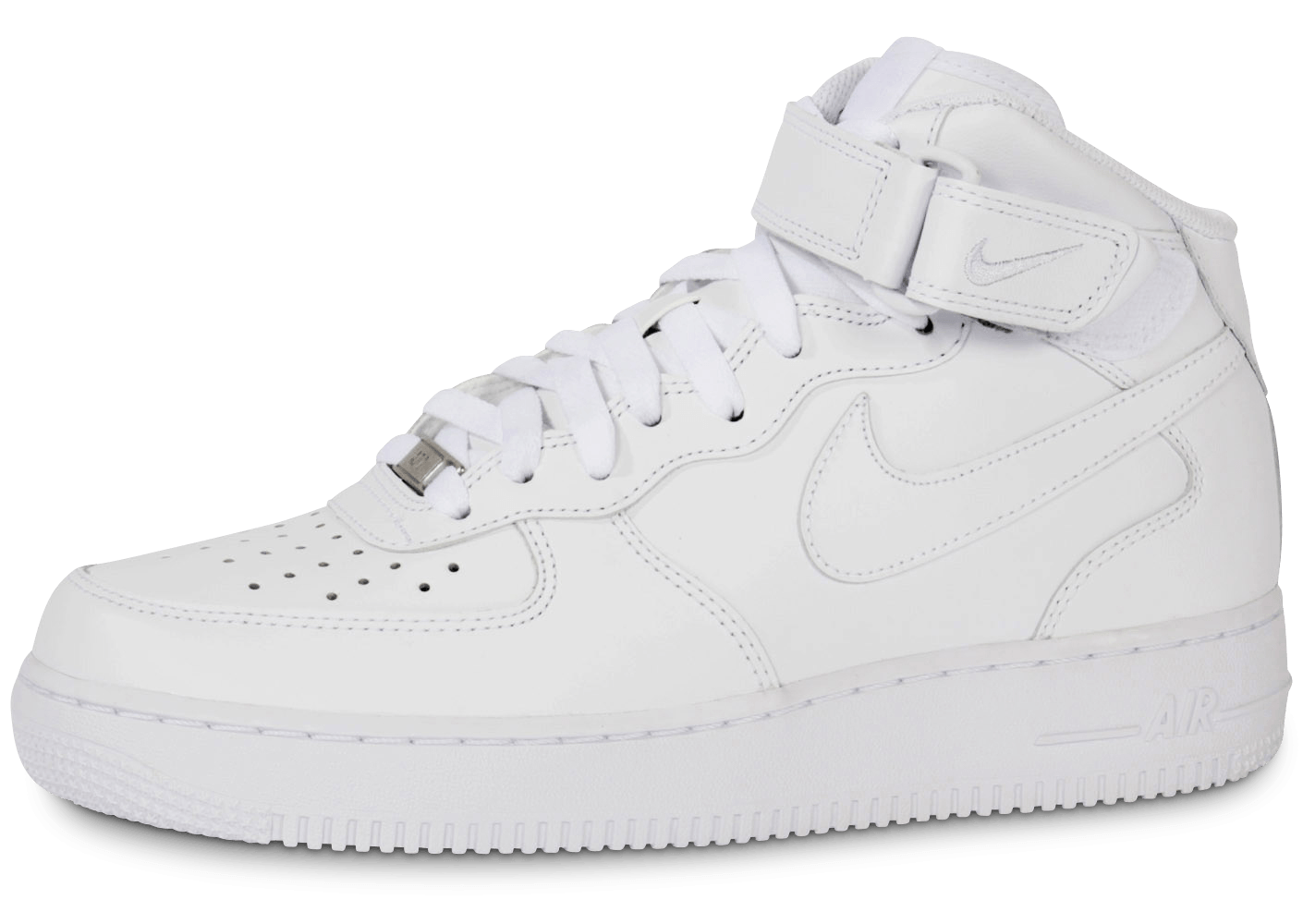 new styles f0e9c c06e8 Nike Air Force 1 Mid 07 Blanche - Chaussures Baskets homme -
