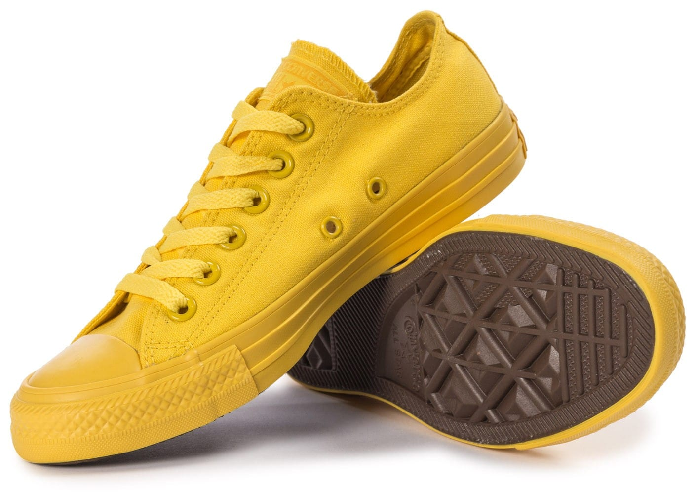 4a2a17f8382 ... promo code for chaussures converse chuck taylor all star mono ox jaune  vue intérieure cfa41 14334