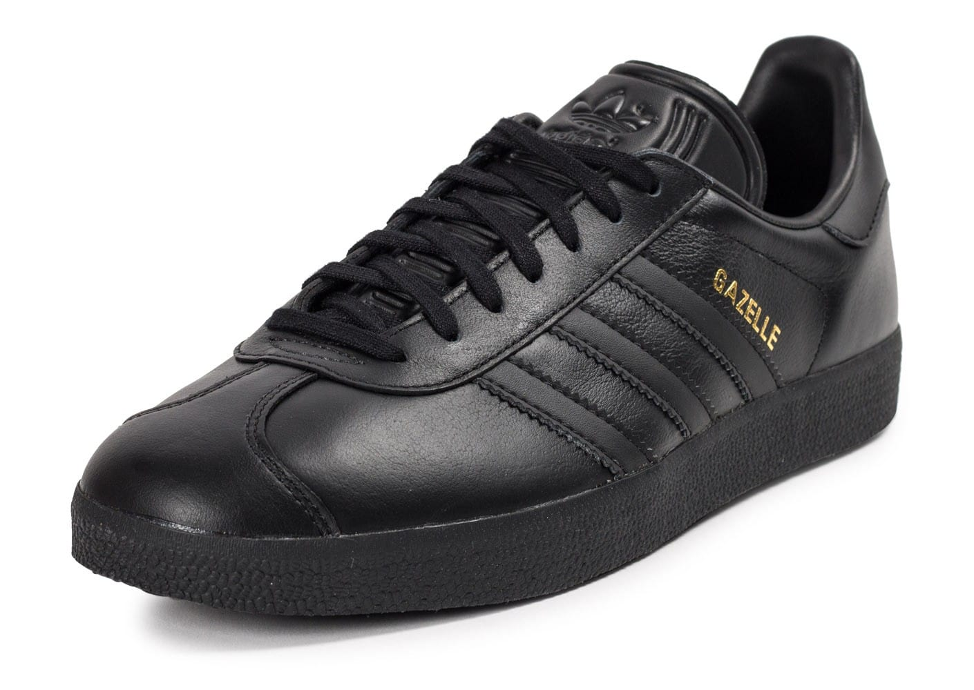 best wholesaler online here superior quality adidas Gazelle Cuir noire - Chaussures Baskets homme - Chausport