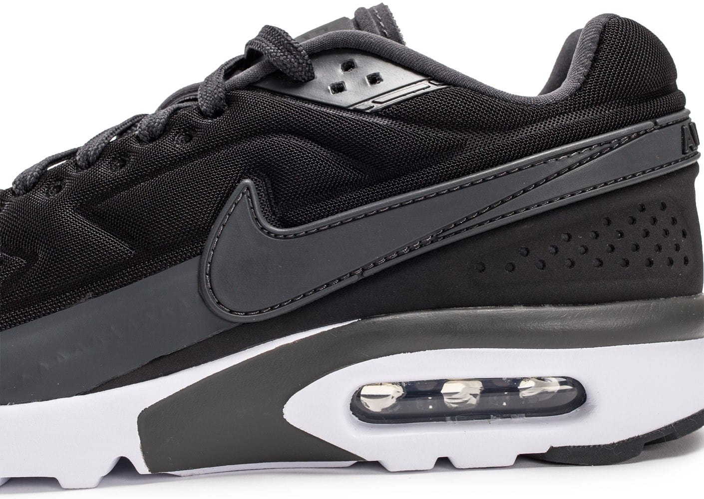 super popular 5242f afb3a ... Chaussures Nike Air Max BW Ultra noir anthracite vue dessus