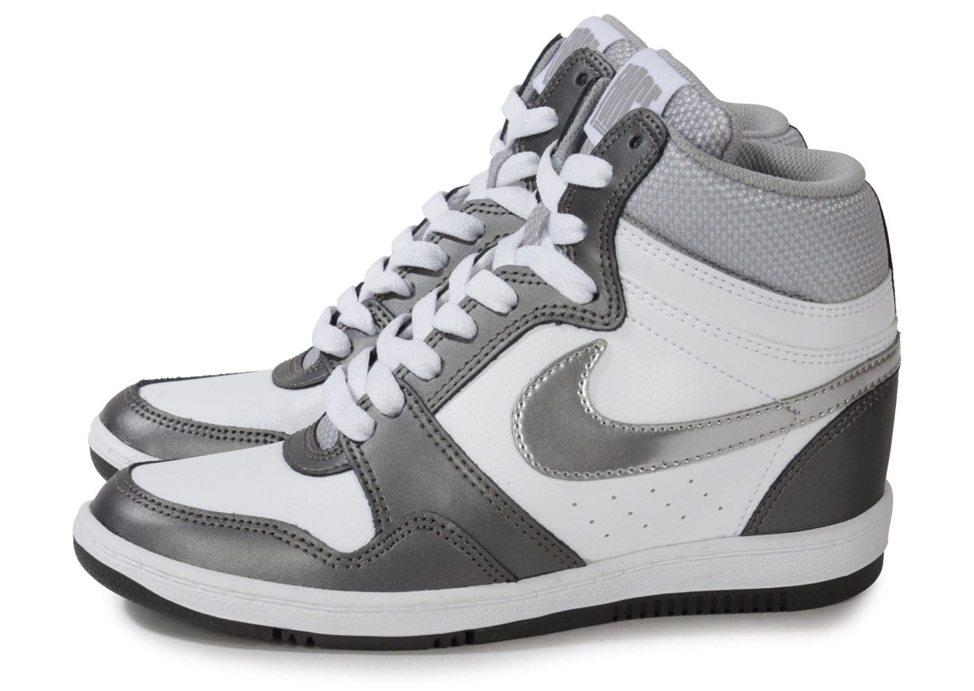 Nike Force Sky Hi Blanche Chaussures Chaussures Chausport