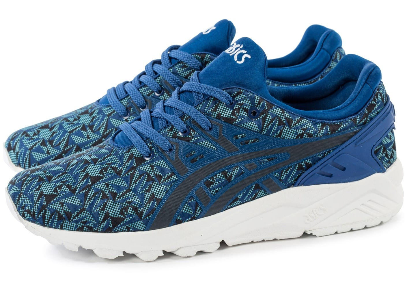 Bleue Evolution Chaussures Origami Gel Kayano Monaco Asics Trainer m80OvNnw