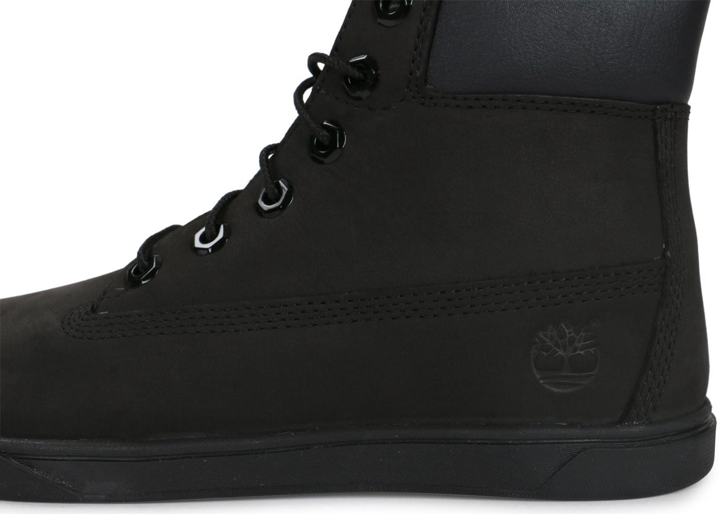 timberland junior noir