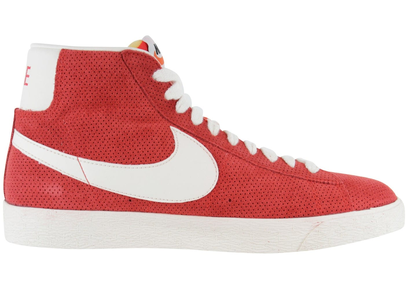 Nike Blazer Mid Rouge Corail Chaussures Baskets homme