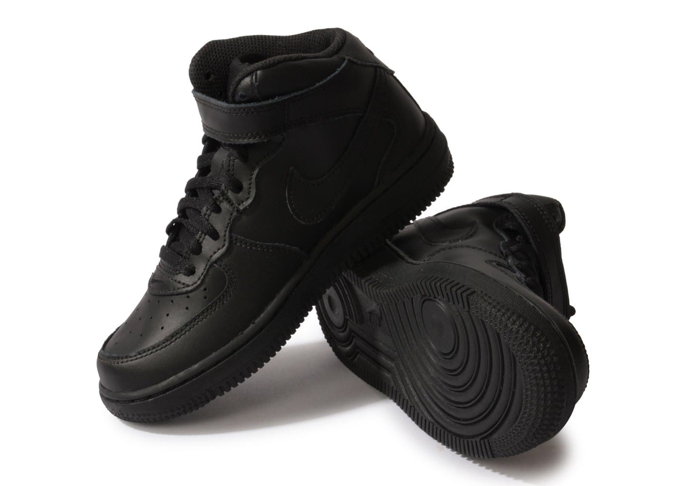 premium selection faaba 80f70 Noire Chausport 1 Air Chaussures Mid Nike Force Enfant wNn8yvm0O