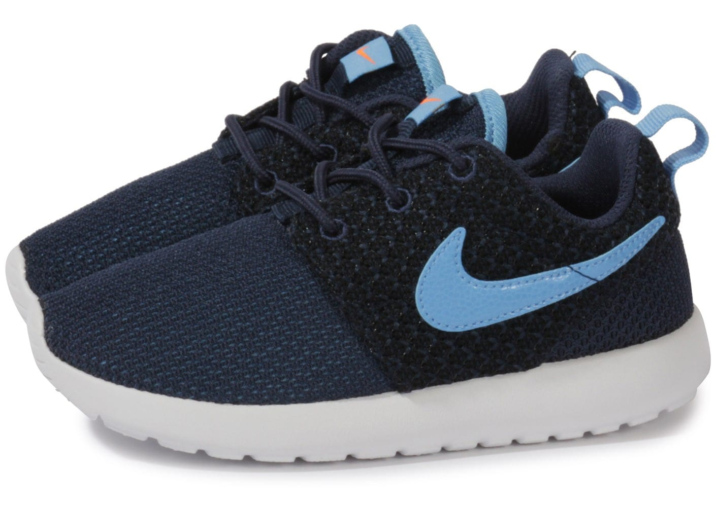 arrives fashion styles official supplier Nike Roshe Run Enfant Bleu Marine - Chaussures Chaussures ...